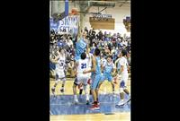 Local basketball teams battle for bragging rights
