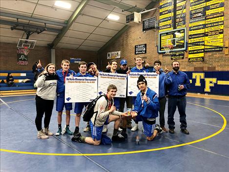The Mission-Charlo wrestling team ranks number one at the Ted Kato Invitational meet in Thompson Falls on Saturday.