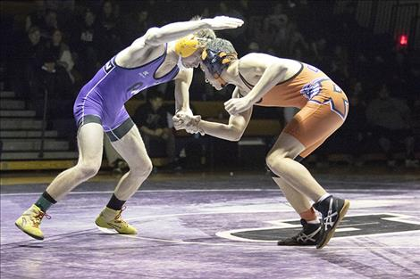 Polson Pirate Jarod Farrier battles his way to a win.