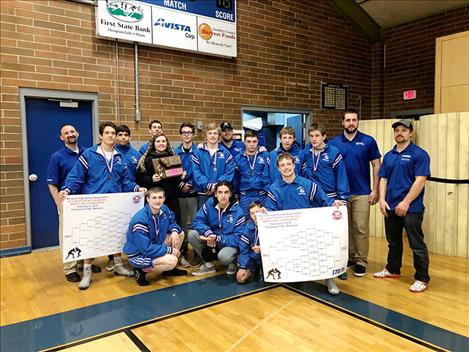 Mission-Charlo Bulldogs place third in the Western B/C  divisional tournament.
