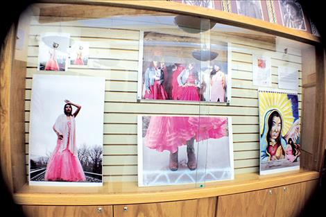 The Pink Dress show on display at the People's Center in Pablo offers a diverse look into the collective experiences of young women who live on the Flathead Reservation and in New York City, Los Angeles and Chapias, Mexico.