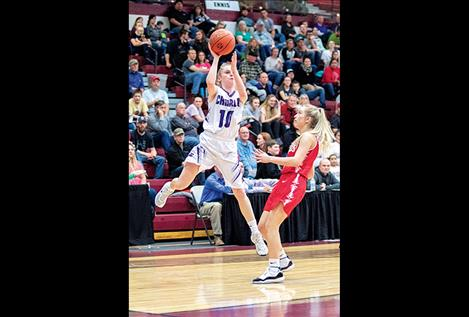 All-State selection Charlo Lady Viking Kaitlin Cox
