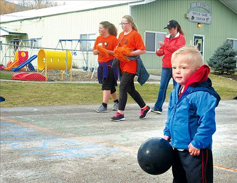 Race proceeds and donations will help buy safer playground equipment for the Dixon Child Care Center.