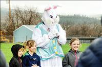 Hundreds attend  St. Ignatius egg hunt  despite rain