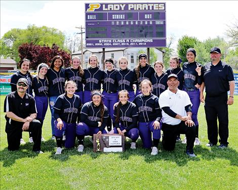The Polson Lady Pirates are State Class A softball runners-up.