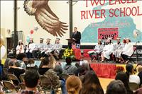 Two Eagle River  School celebrates  commencement