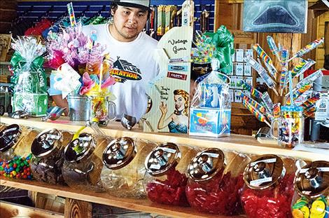 Allard's Candy Store and Gift Shop sells 40 flavors of taffy and more than 50 types of bulk candy.