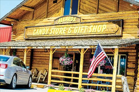 A new gift shop and candy store has opened in St. Ignatius along U.S. Highway 93 South.