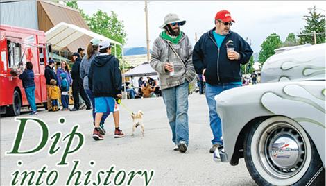 "Main Street filled up with people, vendors and cars during the 70th annual Homesteader Days Celebration on Saturday. The town of Hot Springs is named after it's well known ""healing waters."""
