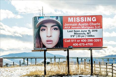 CSKT is now offering a $10,000 reward for information leading to the filing of criminal charges for those involved in the disappearance of Lake County woman Jermain Charlo.