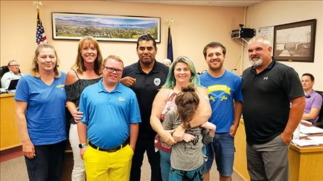Two Special Olympics teams will get new uniforms thanks to community support during a fundraiser by Polson Police.