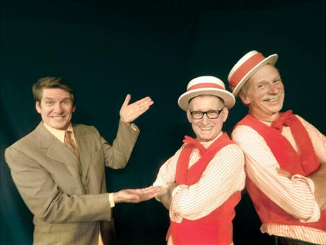 """Mike Gillpatrick, Louis Jepson and Neal Lewing appear in Simon's """"TheSunshine Boys."""""""