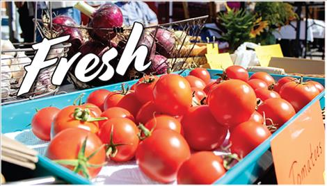 Fresh fruit, vegetables, herbs and flowers are ripe for the picking at Polson Farmers Market and other markets throughout the valley.