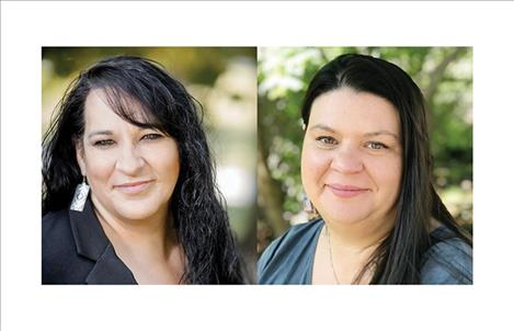 Pictured on the left and right, respectively, are Missing Indigenous Persons Task Force members Ellie Bundy McLeod of the Confederated Salish and Kootenai Tribes and Deputy Attorney General Melissa Schlichting.