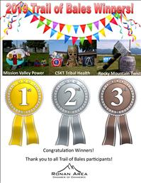 Trail of bales winners announced, Harvest Fest celebrated