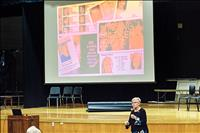 Sex trafficking signs shared during event