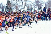 Mission Valley cross-country runners compete in snowy state championship