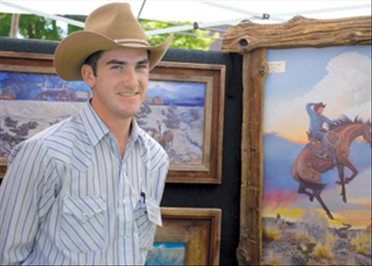 John Kosel paints what he knows: horses and the ranch country around his Red Lodge home..