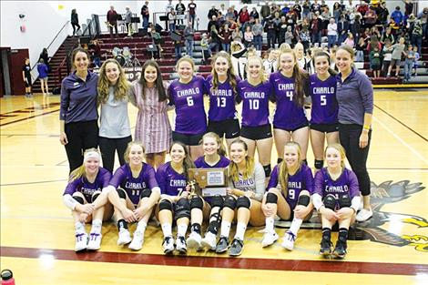 Charlo Lady Vikings, Divisional Western C second place champions