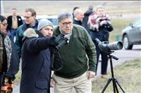 US Attorney General Barr arrives in Pablo, visits Bison Range