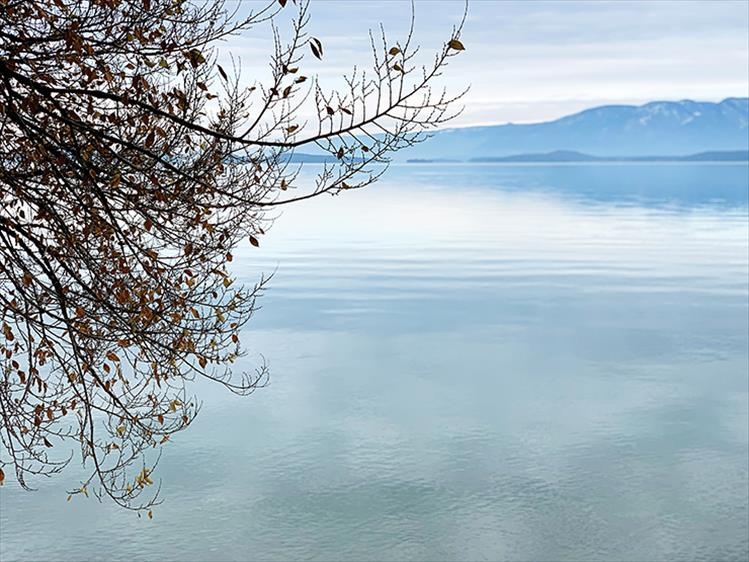Calm waters: Autumn ushers in a peaceful time at Flathead Lake.