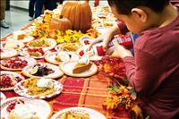 Thanksgiving dinners fill plates, hearts around Lake County