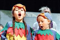 More than 100 children in 2 casts take to stage for 36th production of: 'Fortune's Fables'