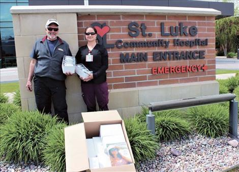 St. Luke Community Healthcare receives donations.