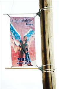 Local schools celebrate students accomplishment with banners