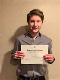 Ronan student wins state DAR contest