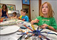 Students explore 'Art in Motion' at Ninepipes Art Camp