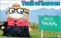 Community hay bale contest continues during pandemic