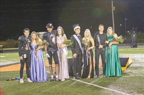 2020 RHS Homecoming Court