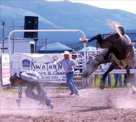 Arlee rodeo draws many contestants