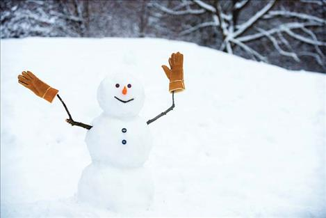 Frosty the Snowman has lost his hat and a scavenger hunt was created to help find it.