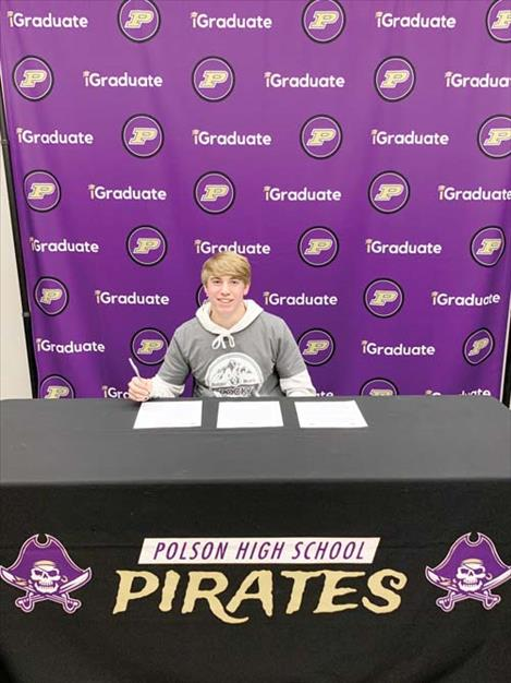 JC Steele signs NLI to Rocky Mountain College.