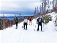 Snow-shoeing, skiing offer healthy ways to enjoy Montana winters