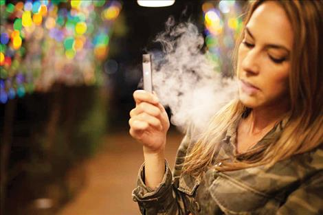If passed, the bill would cancel previous regulations that counties and cities have enacted banning indoor vaping or the sale of flavored nicotine solutions.