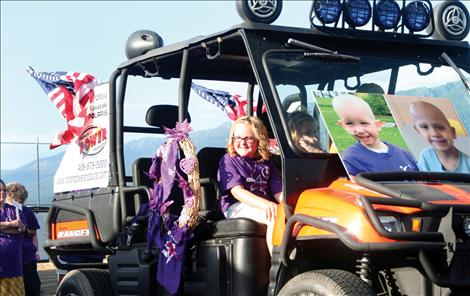 Super heroes fight back at Relay for Life