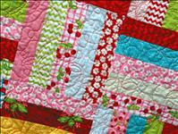 Quilts on display for Flathead Cherry show