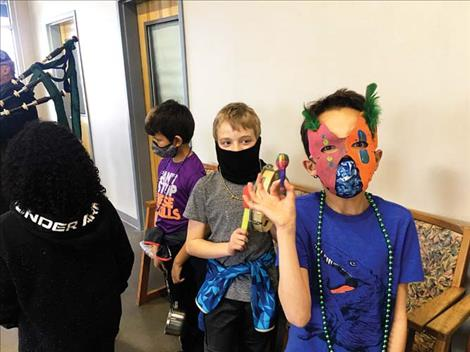 Children with the Boys and Girls Club of the Flathead Reservation and Lake County in Polson used music and decorations to celebrate culture last month.