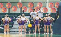 Cheer sections sparse, but full of heart in COVID era