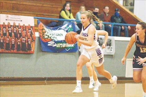 Class C All-State Charlo Lady Viking Carlee Fryberger