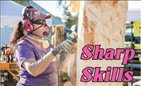 Chainsaw sculptors put skills to test at carving event