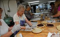 Locals bake cherry pies for cherry festival