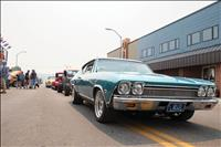 Classic car show rolls into downtown Polson