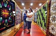 Labors of love on display at quilt show