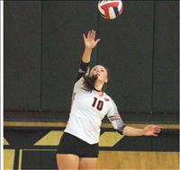 Ronan volleyball sweeps Mission in three sets