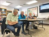 Legislators meet with county commissioners regarding traffic, districting, other issues