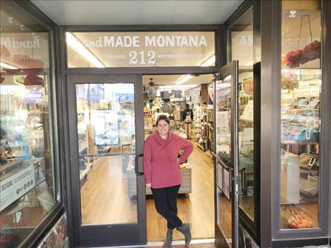 Carol Lynn Lapotka was named Retailer of the Year by the state Department of Commerce for her handMADE Montana store in downtown Polson.
